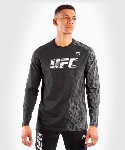 T-shirt Manches Longues Homme UFC Venum Authentic Fight Week - Noir