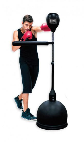 """Punching-ball Adulte Metal Boxe """"Power Spin"""""""