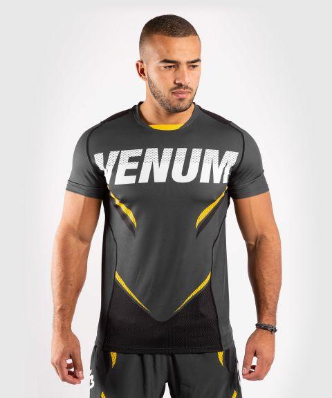T-Shirt Dry-Tech Venum ONE FC Impact - Gris/Jaune