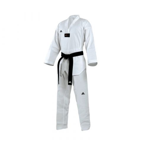Dobok Taekwondo Adidas Champion II - col blanc