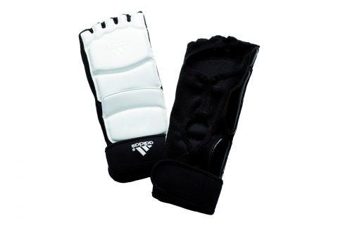 Pitaines de Taekwondo Adidas - Blanc/Noir