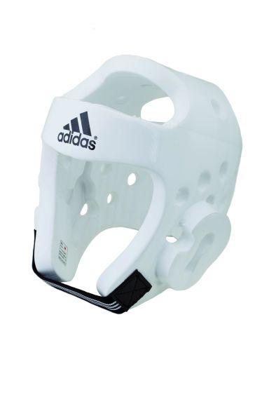 Casque Taekwondo Adidas Blanc - Homologué WTF