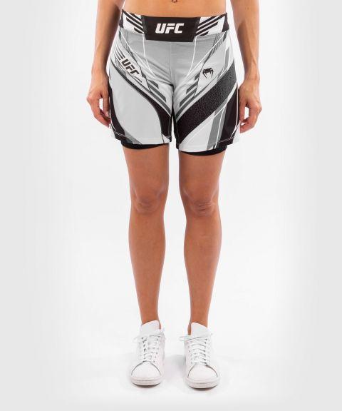 Fightshort Femme UFC Venum Authentic Fight Night - Coupe Longue - Blanc