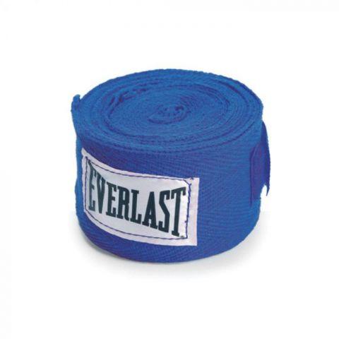 Bandages de Boxe Everlast - 120 cm - Bleu
