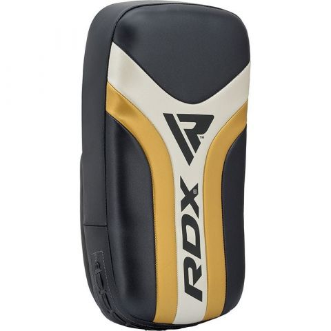 Pao de boxe courbé RDX Sports Aura T-17 - Noir/Blanc/Or