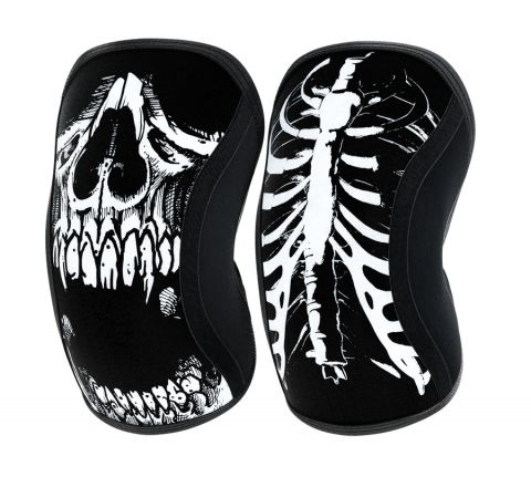 Genouillères Rocktape Knee Sleeves 5mm - Assasin Skull