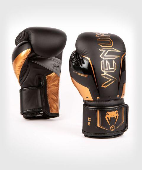 Gants de Boxe Venum Elite Evo - Noir/Bronze