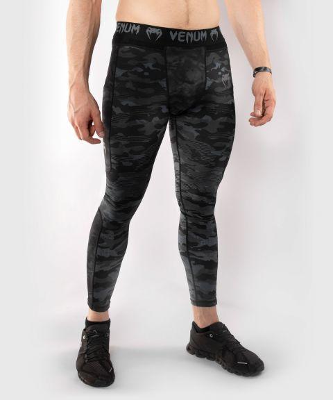 Pantalon de Compression Venum Defender - Dark Camo