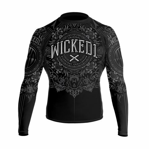 Rashguard Wicked One Brain - Noir