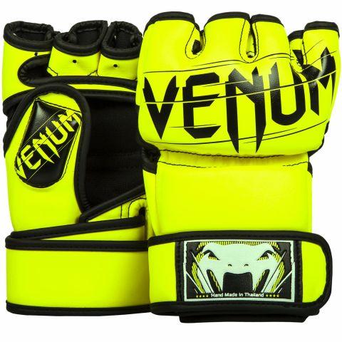 Gants de MMA Venum Undisputed - Jaune Fluo