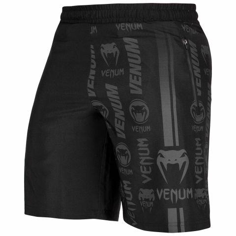 Short de sport Venum Logos - Noir/Noir