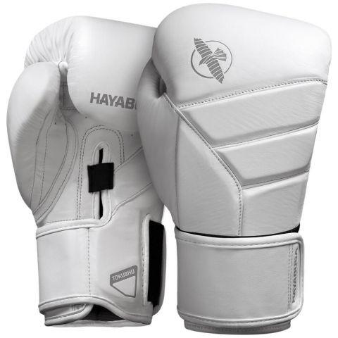 Gants de Boxe Hayabusa T3 - Blanc/Gris