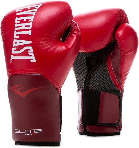 Gants de Boxe Everlast Elite Pro Style Elite - Rouge Flamme