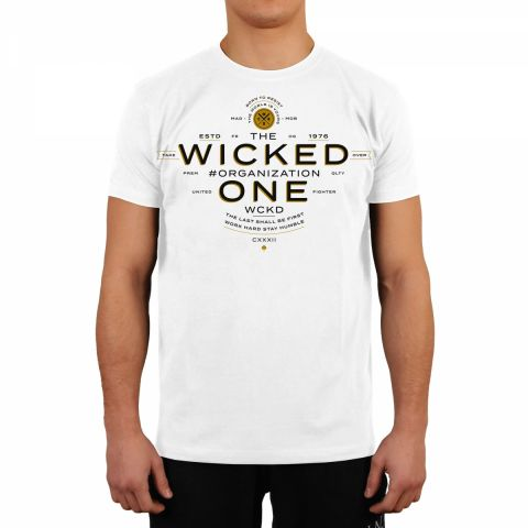 T-shirt Wicked One Premium - Blanc
