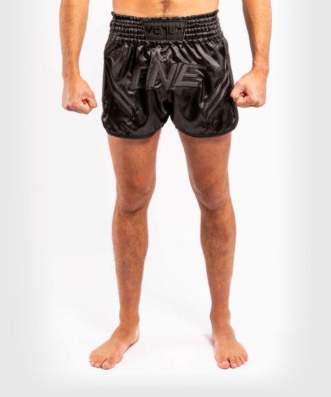 Short de Muay Thai Venum ONE FC Impact - Noir/Noir