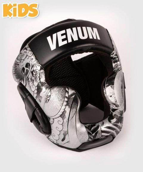 Casque de Boxe Venum YKZ21 - Pour Enfant - Noir/Blanc