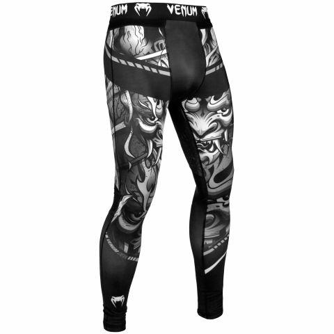 Pantalon de Compression Venum Devil - Blanc/Noir