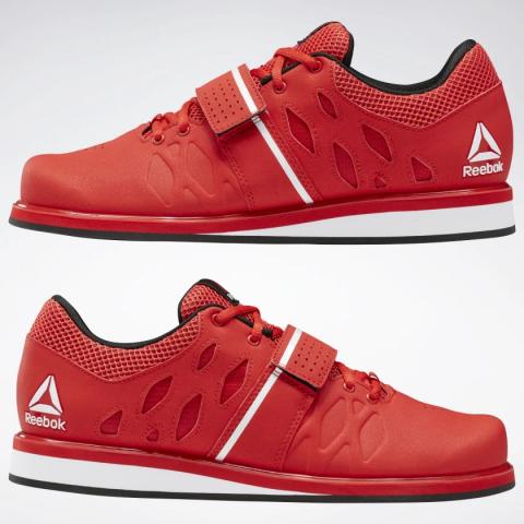 Chaussures d'haltérophilie Reebok Lifter - Rouge
