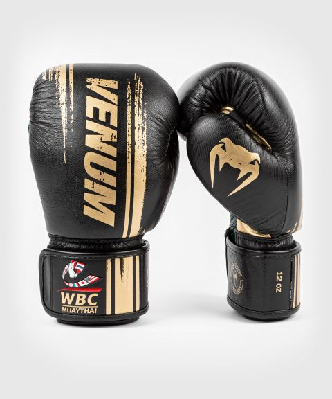 Gants de boxe Venum WBC Muay Thai - Noir/Vert