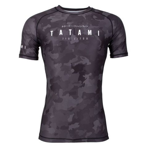 Rashguard Tatami Fight Stealth - Manches Courtes