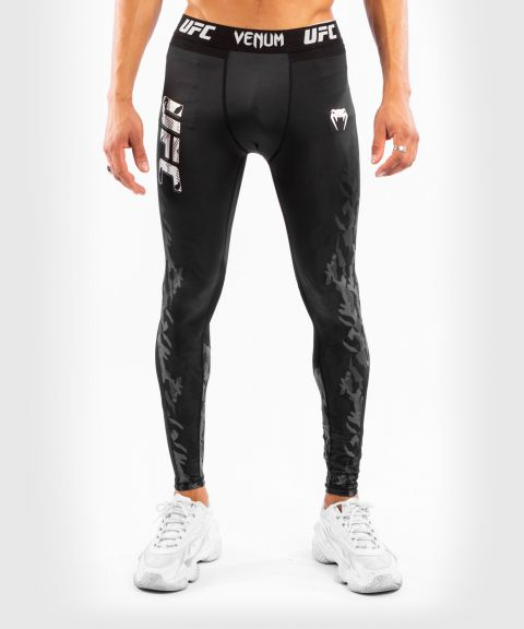 Pantalon de Compression Homme UFC Venum Authentic Fight Week - Noir