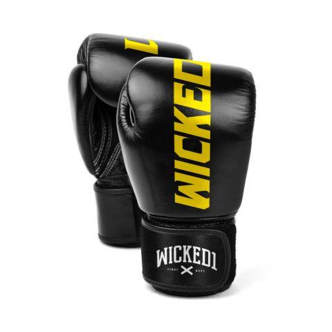 Gants de boxe Wicked One Rocket - Noir/jaune