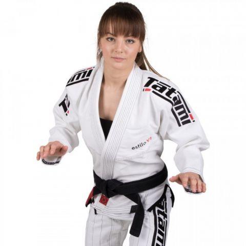 Kimono de JJB Femme Tatami Fightwear Estilo 6.0 - Blanc/Noir