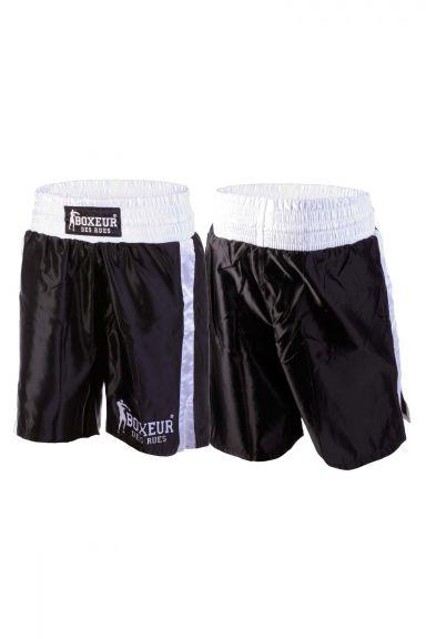Short de Boxe Boxeur des Rues - Noir