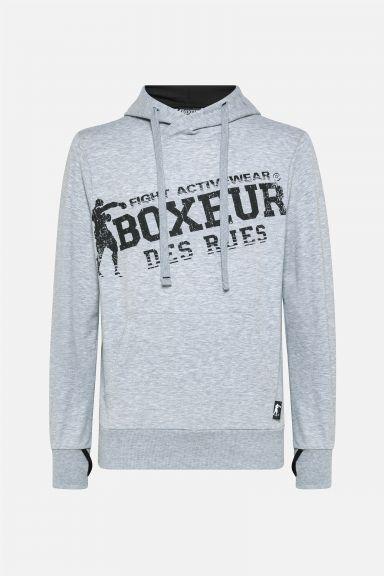 Sweatshirt Boxeur des Rues - Gris