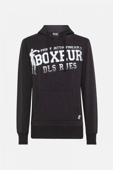 Sweatshirt Boxeur des Rues - Noir