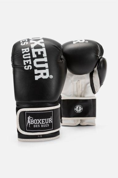 Gants de Boxe Boxeur des Rues Impact - Noir