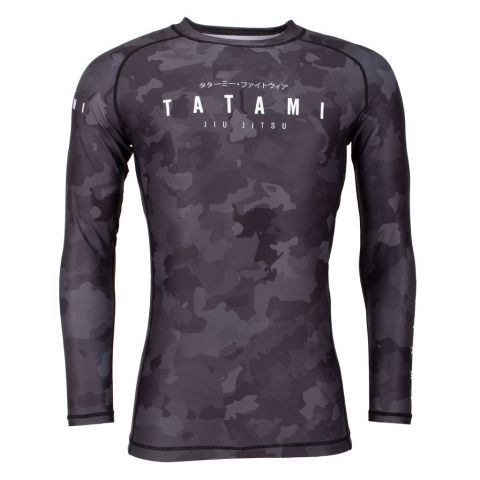 Rashguard Tatami Fight Stealth - Manches Longues