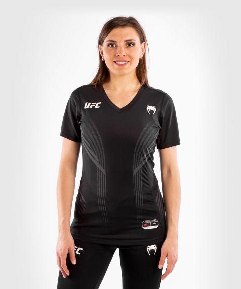T-shirt Technique Femme UFC Venum Authentic Fight Night - Noir