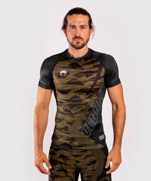 T-shirt de compression Contender 5.0 - Manches courtes - Camouflage kaki