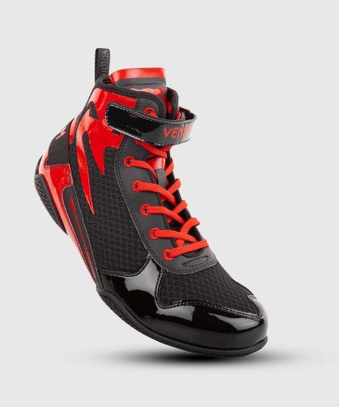 Chaussures de boxe Venum Giant Low - Noir/Rouge