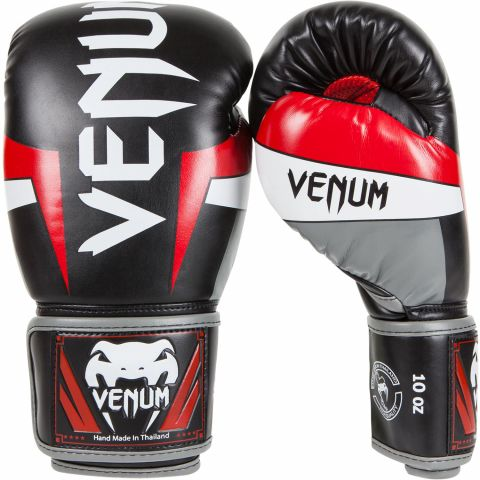 """Gants de Boxe Venum """"Elite"""" - Cuir Skintex"""