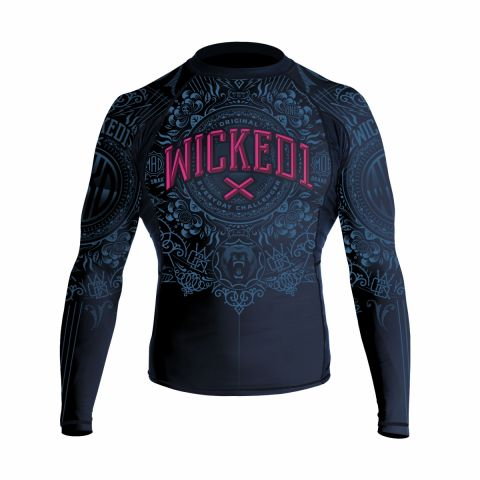 Rashguard Wicked One Brain - Bleu Marine