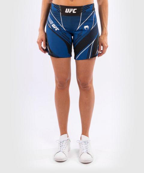 Fightshort Femme UFC Venum Authentic Fight Night - Coupe Longue - Bleu