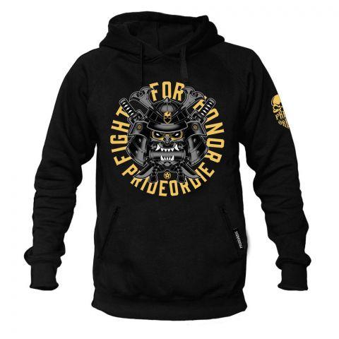 Sweatshirt à Capuche Pride Or Die Fight For Honor - Noir