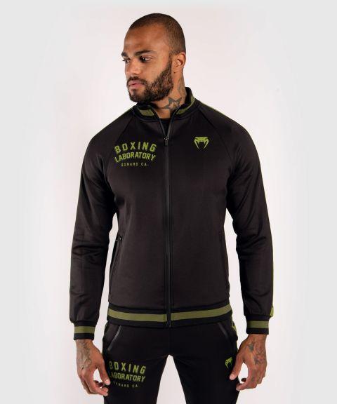 Veste de jogging Venum Boxing Lab - Noir/Vert