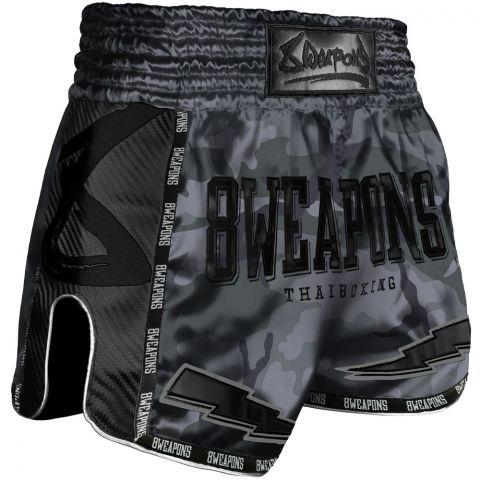 Short de Muay Thai Carbon - Night Camo