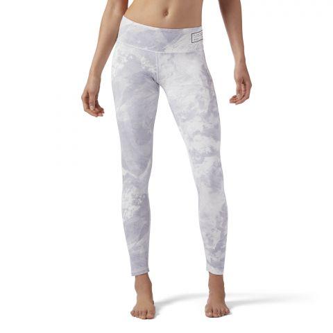 Legging Femme Reebok Combat Prime - Blanc