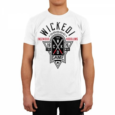 T-shirt Wicked One Hoodlum - Blanc