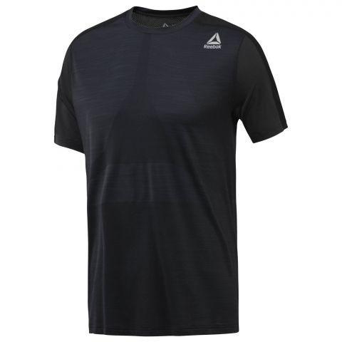 T-shirt Reebok ActivChill Jacquard - Noir