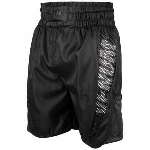 Short de boxe Venum Elite - Noir/Noir