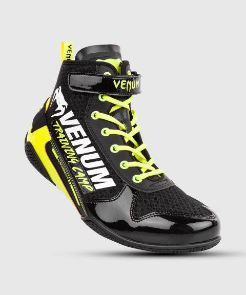 Chaussures de boxe Venum Giant Low VTC 2 Edition - Noir/Jaune Fluo