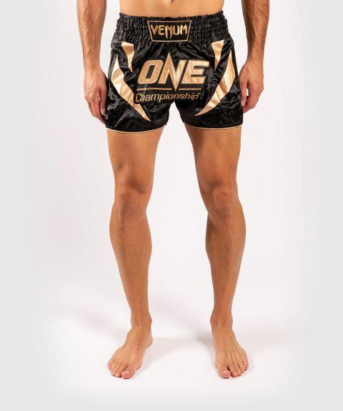 Shorts de muay thai Venum x ONE FC - Noir/Or