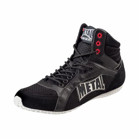 Chaussures multiboxe basses Viper III Metal Boxe - Noir