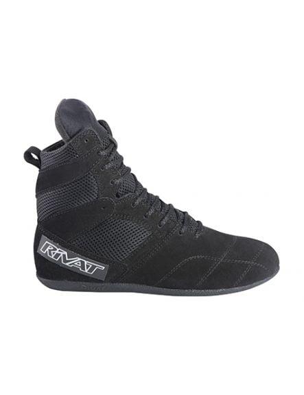 Chaussures de boxe française Rivat Top Light - Noir
