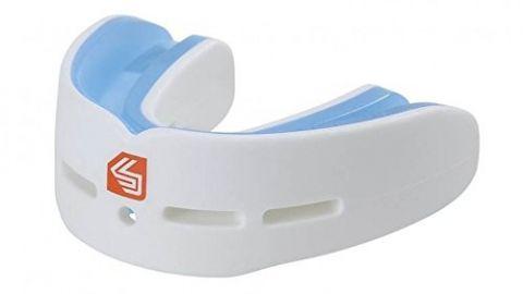 Protège-dents Double Shock Doctor Gel Nano - Blanc